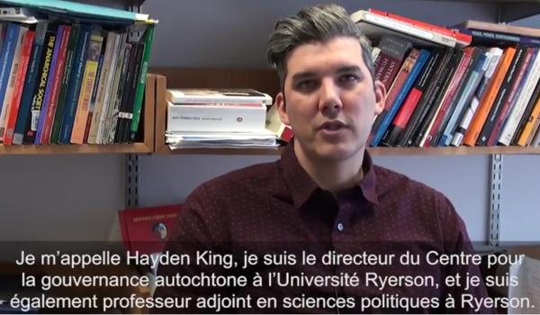 Hayden King - a propos des traites