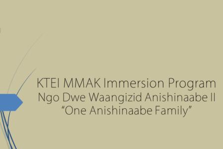 One Anishinaabe Family